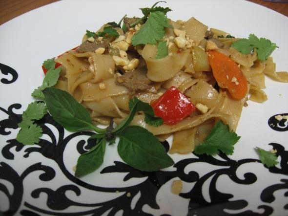 Garlic Beef Noodles