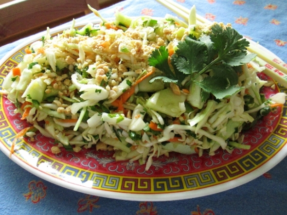 Southeast Asian Cabbage Salad