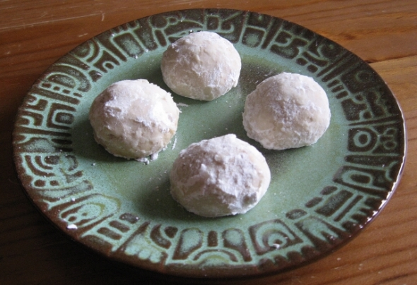 Melted Snowball Cookies
