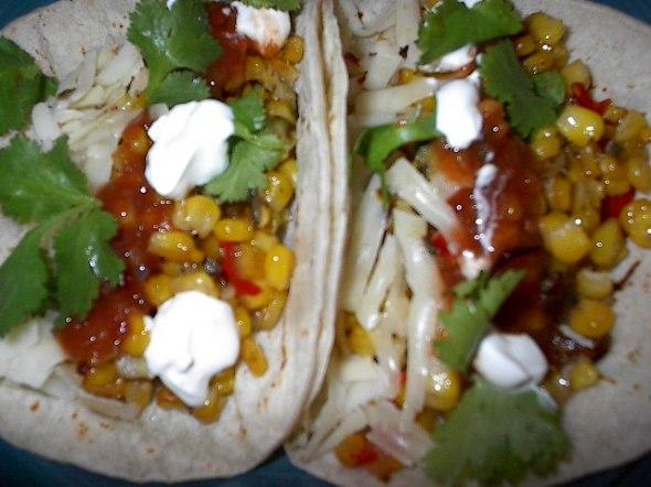 corn tacos