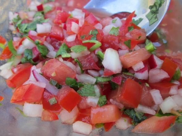 Chimol (Salvadorian Salsa)
