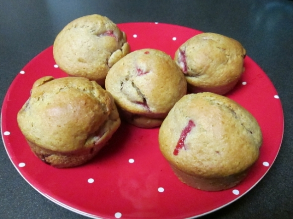 Strawberry Muffins - dm