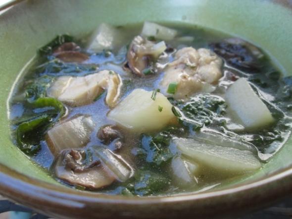 Chicken and Turnip Stew