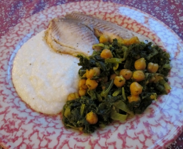 Tilapia and Grits