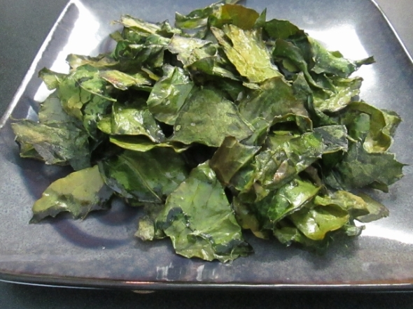 Collard Greens Chips