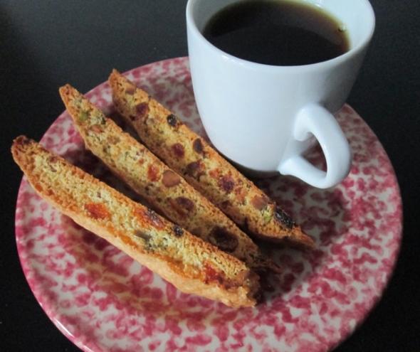 Apricot & Pistachio Biscotti