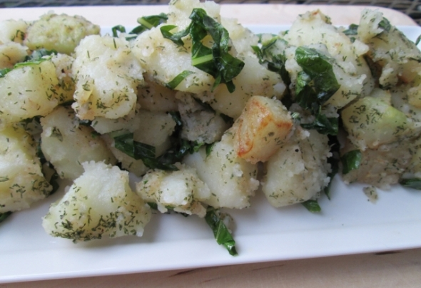 Swedish Potato and Kohlrabi Salad (640x439)