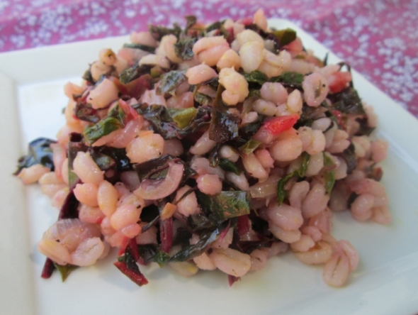 Warm Barley Salad with Swiss Chard 2 (640x482)