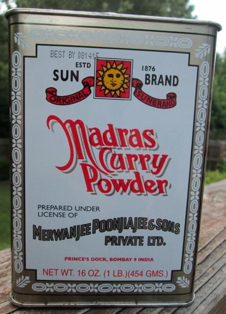 Sun Brand Madra Curry Powder