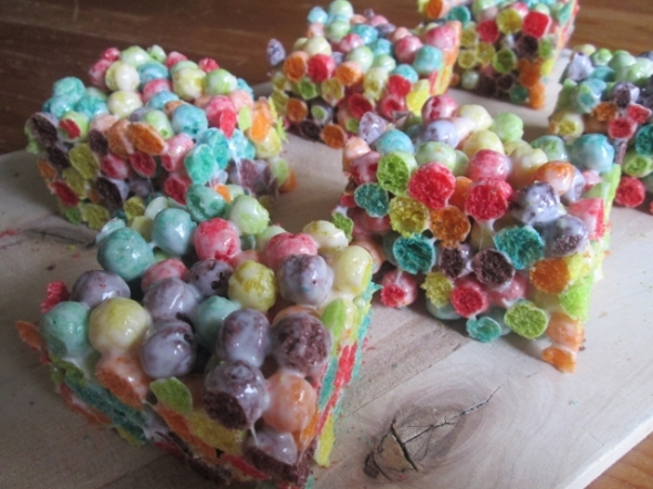 Trix Marshmallow Treats