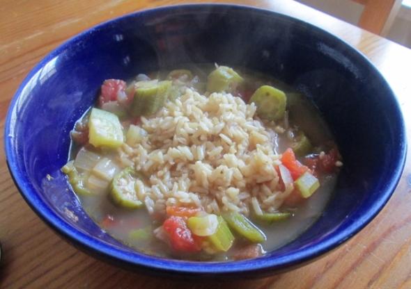 Cajun Okra Soup