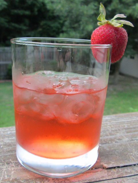 Strawberry Infused Vodka Drinnk