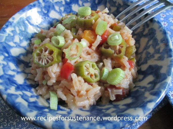 Okra Pilau | Recipes for Sustenance