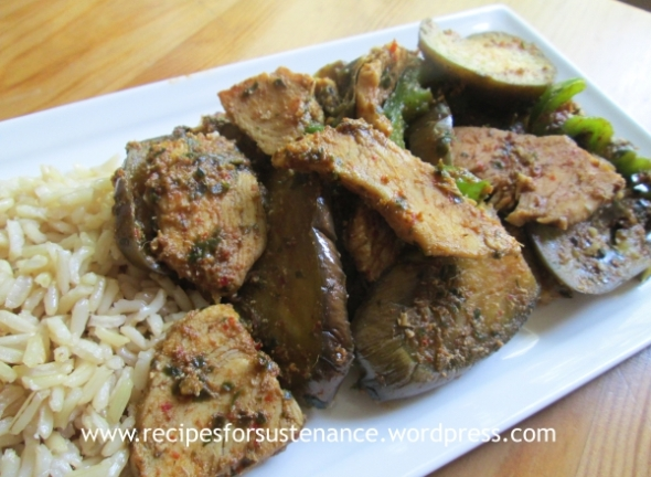 Thai Chicken and Eggplant Curry 3