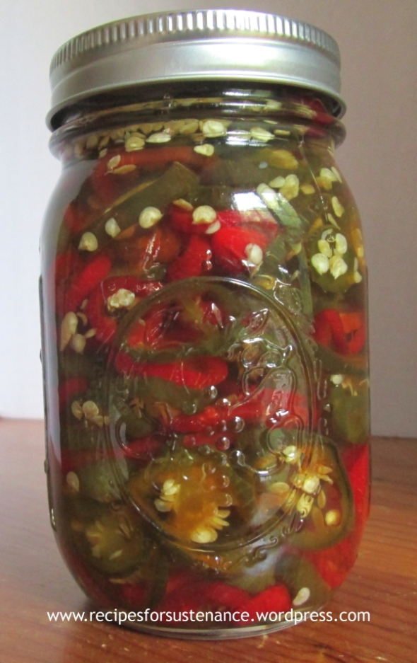 Canned Candied Jalapenos