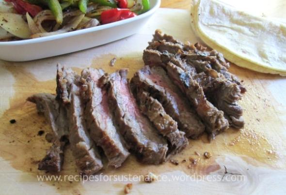 Sliced Beef Fajitas