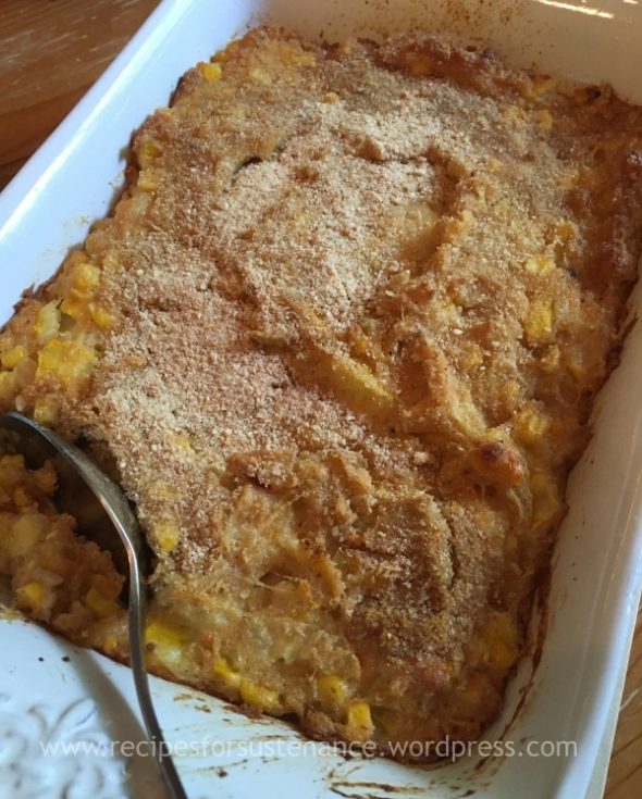Summer Squash and Corn Casserole