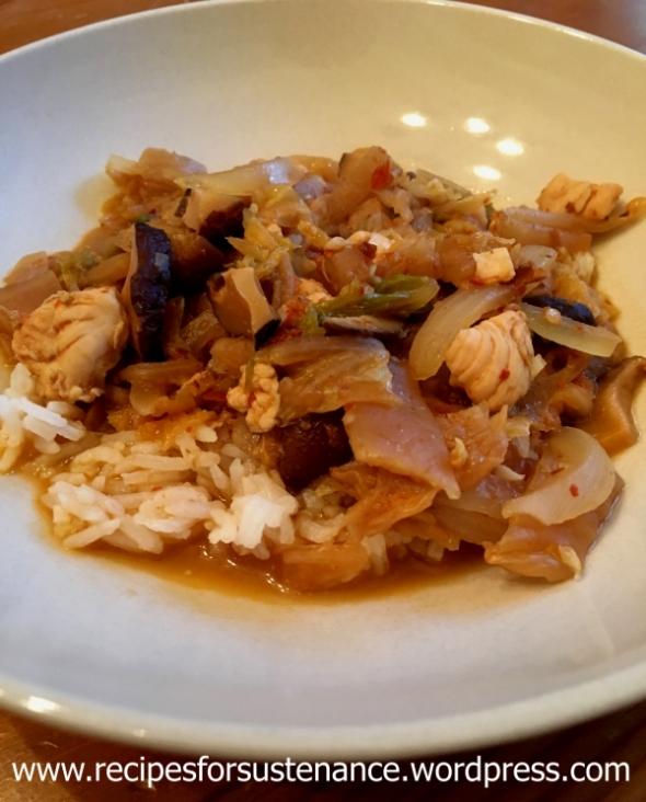 kimchi-and-chicken-stew