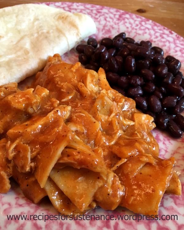 Crockpot Chicken Enchilada Casserole Recipes For Sustenance