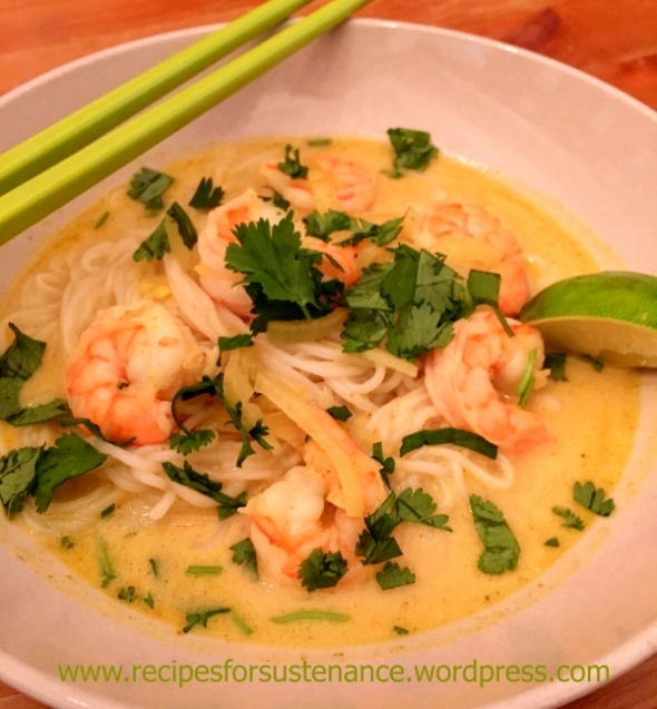 Shrimp Laksa