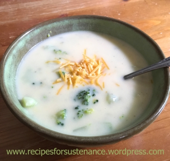 Quick Broccoli and Cheese Soup
